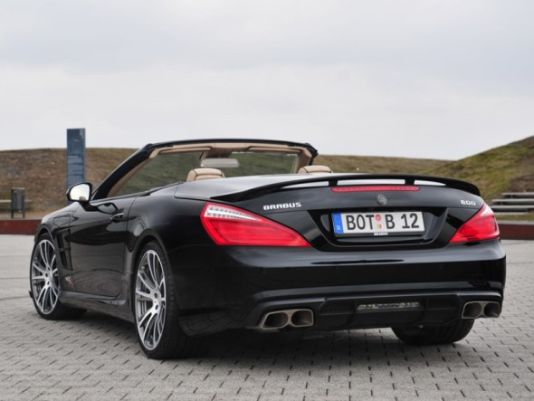 2013 Brabus 800 Roadster-Rear Side