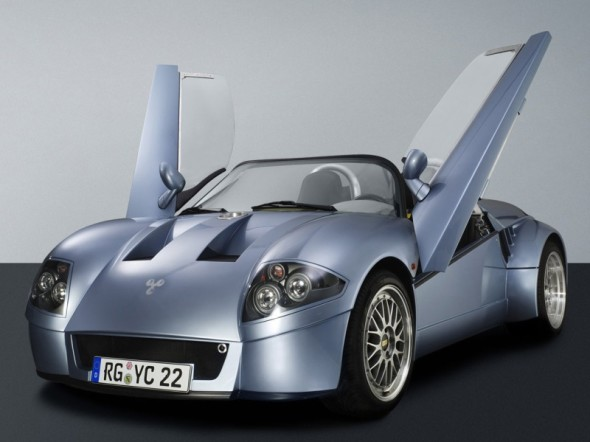 2003 YES Roadster-Front Side