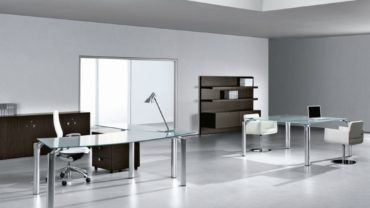 Modern Minimalist Decorative White Office