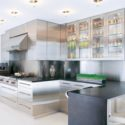 Modern Stainless Steel Kitchen