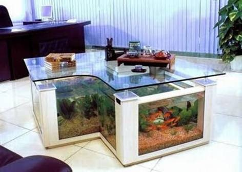 Aquarium Coffee Table Design