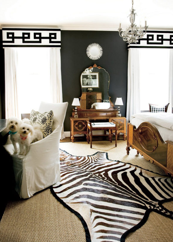 exquisite black wall