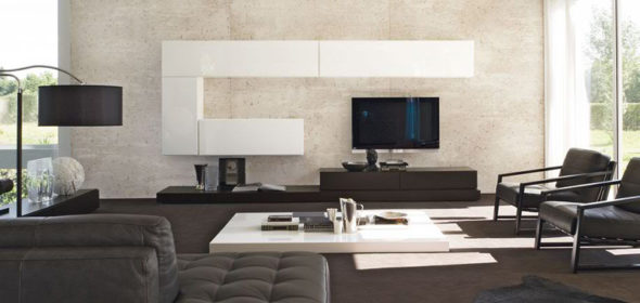 modern-living-room-storage-organization-rovere-moka-and-bianco-glossy-lacquered