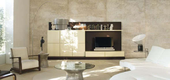 modern-living-room-storage-organization-rovere-moka-and-bianco-perla-glossy-lacquered