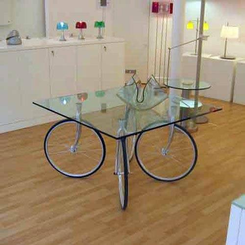 Unique Wheel Coffee Table