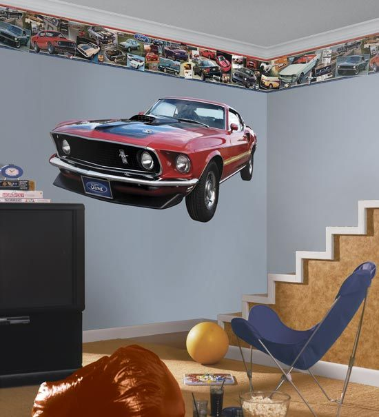 Your Teen Boy Room mustangs