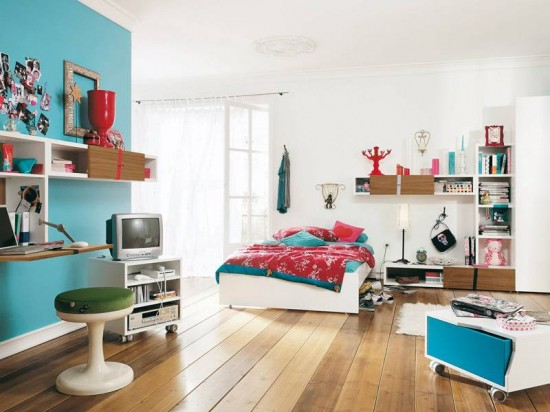 Energic and Dynamic Children Room Design by Namic. Children room design