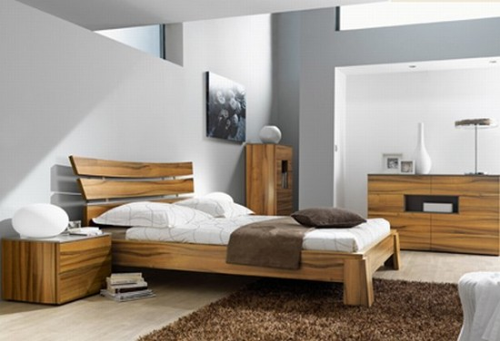 Modern Bedroom Design by Gautier