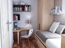 White Compact Bedroom The ROOM ODA