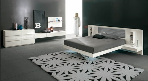 suspended platform bed alf group italy