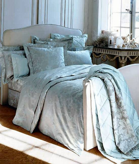 yves delorme venise bed linens