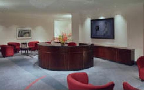 Profesionalism Office Reception Design Ideas