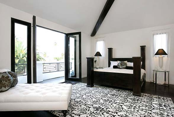 Black And White Bedroom Designs And Room Interiors beautifulblack