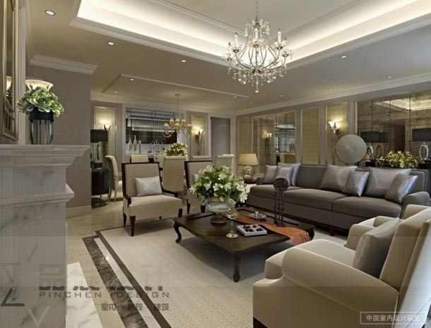 luxury living room design ideas from chainese style opulent classy living room neutral tones photos - Classy Living Room Designs