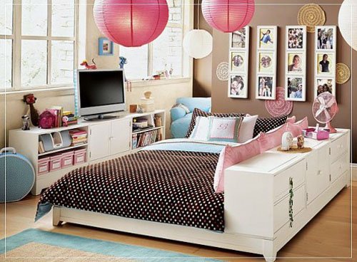 Teen Bedroom Makeover Interior Design Decorating for Girl ...