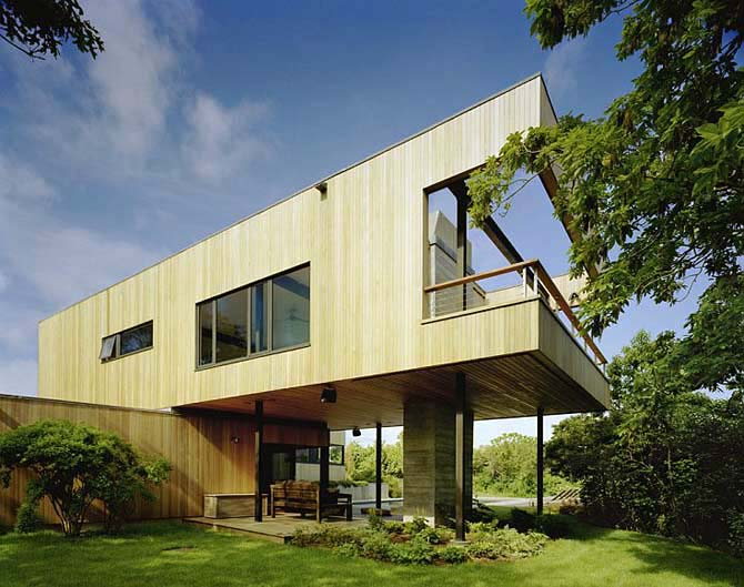 Elegant Contemporary Wooden House Design By Murdock Young Architects : Innovative  Home Vacation Architecrture Cutler Residence Photos Part 10