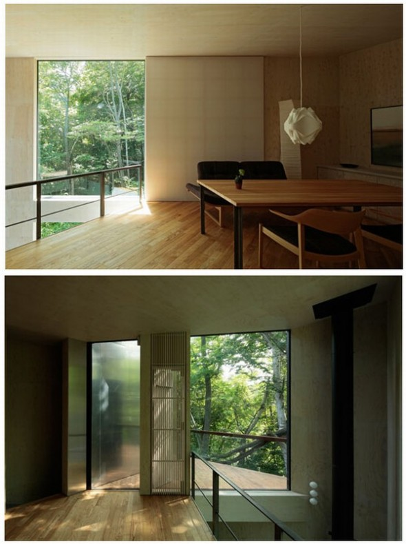 Japanese Ordinary House Zen Minimalist Home Design By