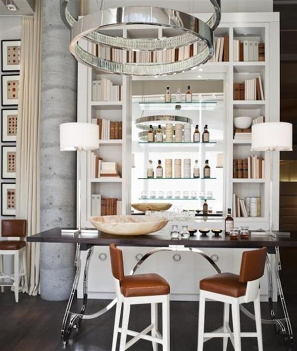 White Mini Bar Home Design – Home Decorating, Interior Design ...