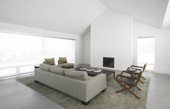 Rooms With White Walls living room with white walls and large window openings dissolve