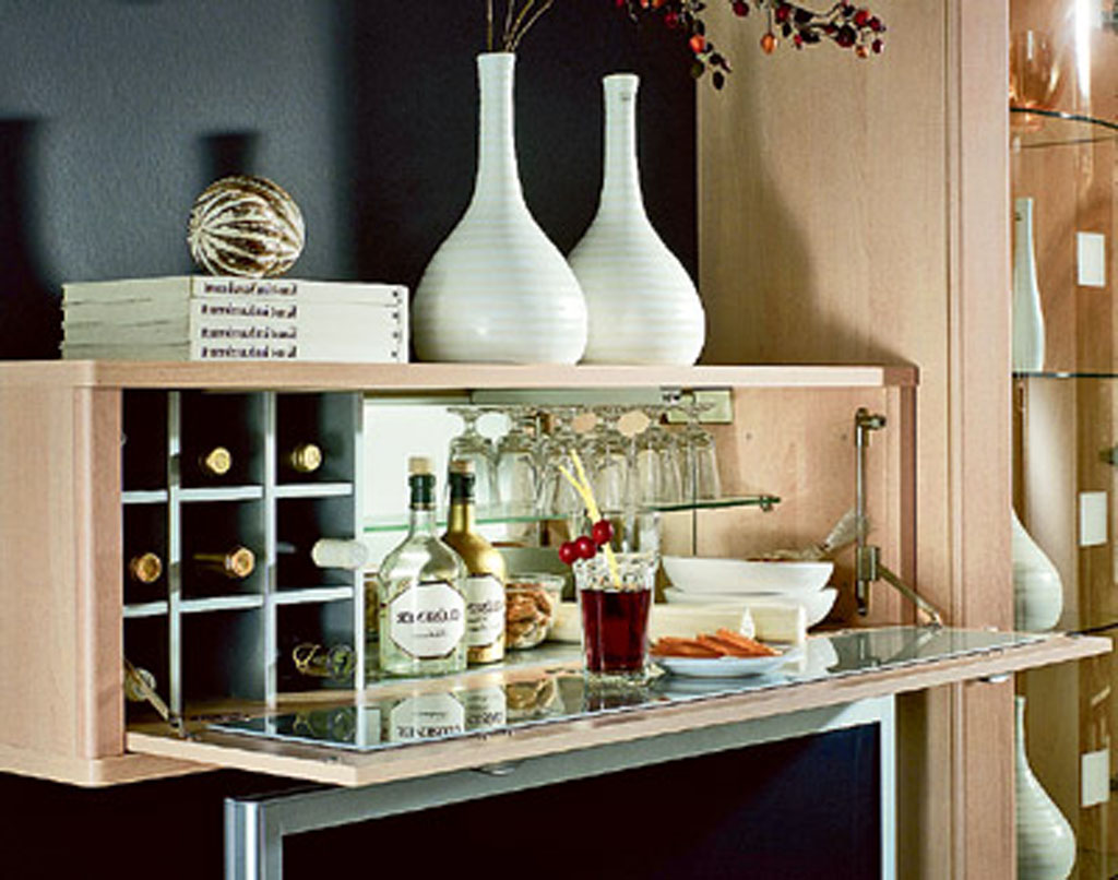 simple home bar inspiration – Home Decorating, Interior Design ...