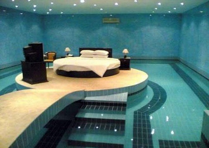 Bedroom with Swimming Pool