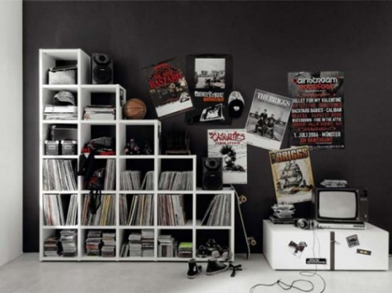 Teenagers Modern Interior Room With NAMIC