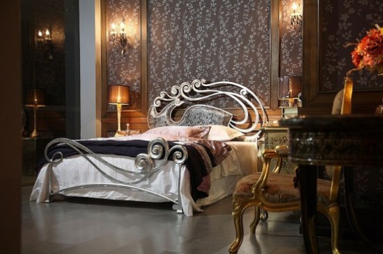 iron bed design by stylish