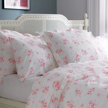 Cute Brushed Cotton duvet cover pink