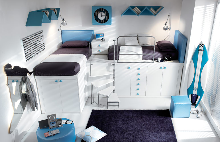 Minimalist Teens Bedroom Ideas