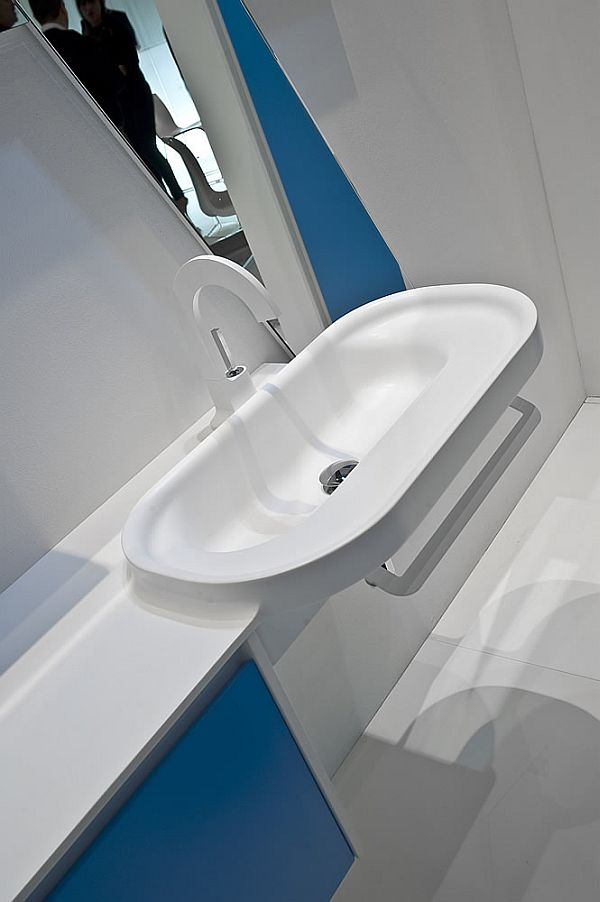 Bathroom Sink Modern Simple Italian Design