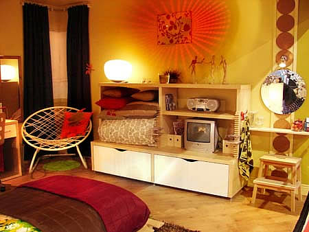 teenage bedroom decor. bedroom decorating ideas ...