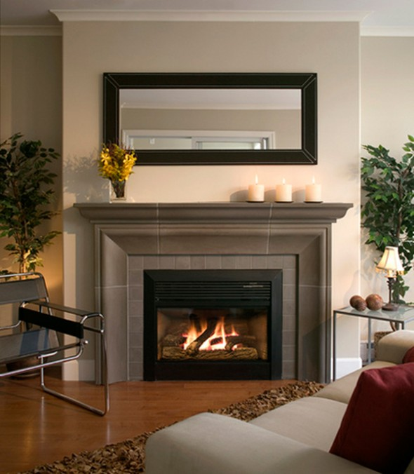 How To Decorate Mantle Fireplace Great Fireplace ...