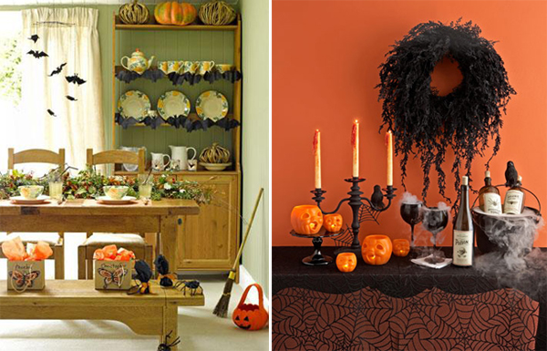 halloween decorating on budget halloween interior design photos - Decorating For Halloween On A Budget
