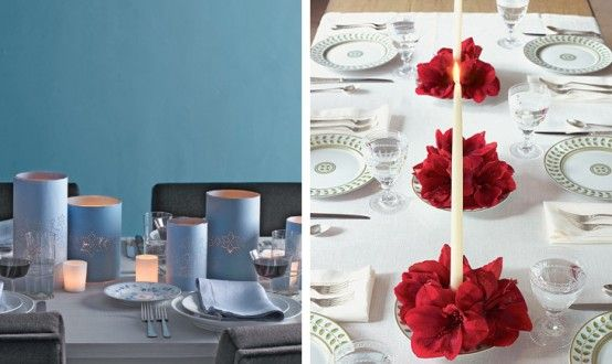 Christmas Dining Table Decorations easy christmas dining table decoration