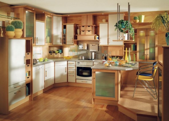 Decorating Kitchen Designs Blend Traditional and Modern