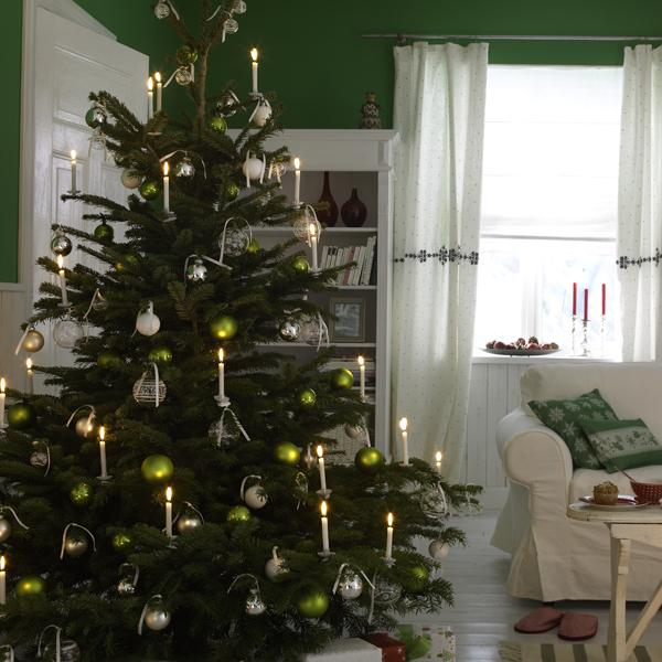 Awesome Christmas Tree Without Lights Part - 8: ModernHolic