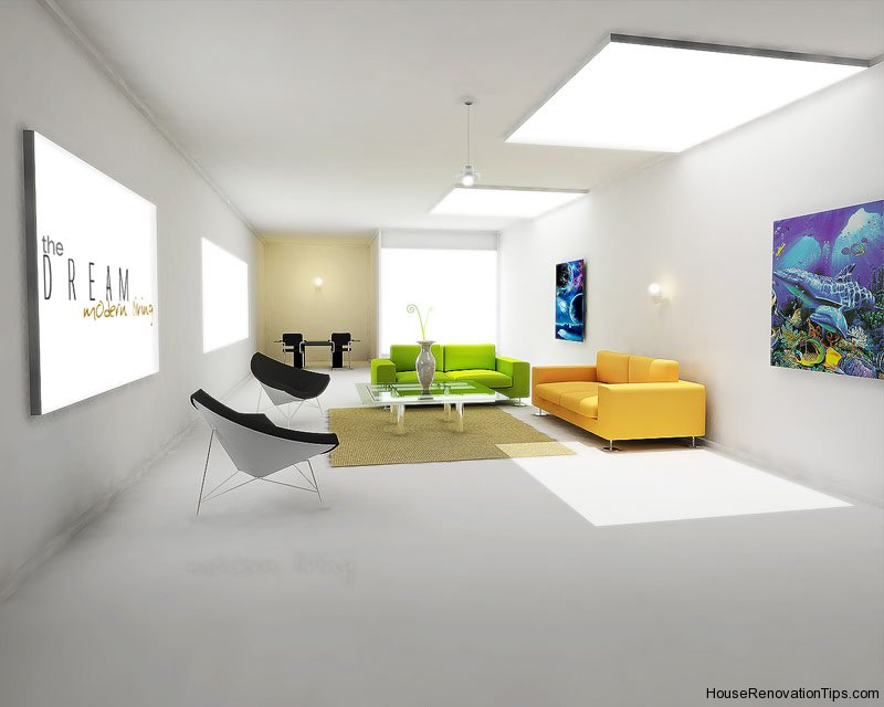 modern decorating white interior design home decorating interior