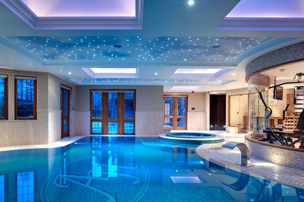 Indoor Swimming Pool as Luxury Symbol of Healthy Life Style ...