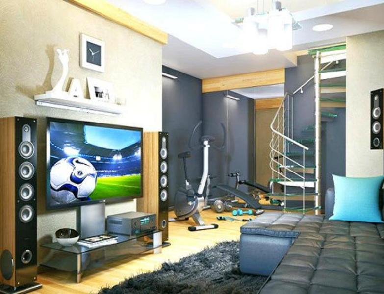 Teen Room Workout Area – Home Decorating, Interior Design, Fashion ...