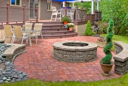 awesome patio deck ideas designs gallery - home iterior design ... - Patio Deck Ideas